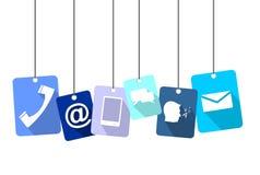 Tag communication Royalty Free Stock Photo