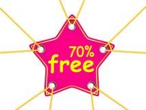 Tag da estrela Imagens de Stock Royalty Free