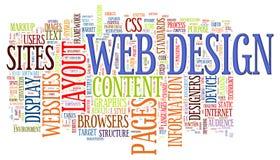 Tag da palavra do projeto de Web
