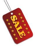 Tag da venda Imagens de Stock Royalty Free