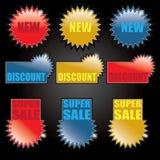 Tag de compra - etiquetas Foto de Stock Royalty Free