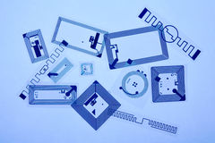 Tag de Rfid Foto de Stock Royalty Free