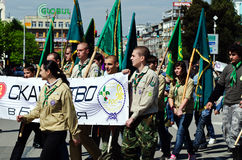 Tag der bulgarischen Armee Stockbild