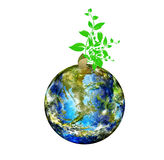 Tag der Erde. lizenzfreie abbildung