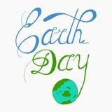 Tag der Erde - perfektes Gestaltungselement Stockbild
