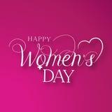 Tag der Frauen stock abbildung