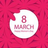 Tag der glücklichen Frauen Stockbild