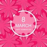 Tag der glücklichen Frauen Lizenzfreies Stockbild