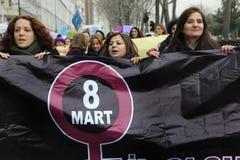Tag der internationalen Frauen Lizenzfreies Stockbild