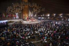 Tag der Jungfrau von Guadalupe Stockfotos