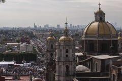 Tag der Jungfrau von Guadalupe Stockbild