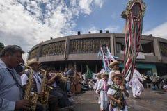 Tag der Jungfrau von Guadalupe Lizenzfreie Stockbilder