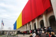 Tag der offenen Türen an der rumänischen Regierung Stockfotografie
