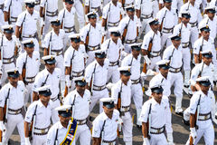 Tag der Republik-Armee-Parade Lizenzfreie Stockfotografie
