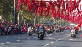 Tag der Republik von die Türkei-Feiern Stockfotos