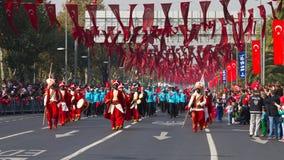 Tag der Republik von die Türkei-Feiern Stockfotografie
