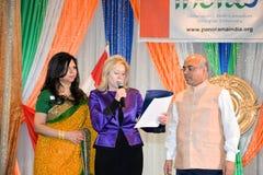 Tag der Republik von Indien-Feiern Lizenzfreie Stockfotos