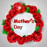 Tag der Rotrosenkonzept-Mutter s Lizenzfreie Stockfotos