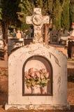 Tag der Toten - Grundstein stockfotos