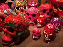 Tag der toten Schädel bei Epcot Mexiko, in Orlando, FL stockfotos