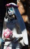 Tag der toten Statue Historische alte Stadt Albuquerque, Nanometer stockbild
