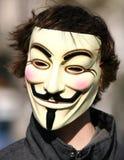 Tag der Weltdemonstration gegen Acta Stockbild