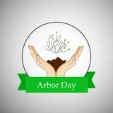 Tag des Baums-Hintergrund Lizenzfreie Stockbilder