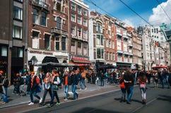 Tag des Königs, Amsterdam Lizenzfreie Stockbilder