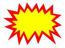 Tag em branco ilustração royalty free