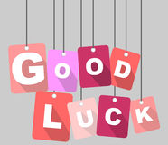 Tag good luck Royalty Free Stock Photo