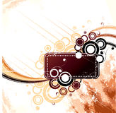 Tag with grunge design  Stock Image