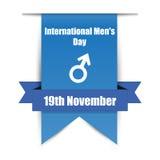 Tag hängender Männer Leyba der internationale mit Schatten Lizenzfreies Stockbild