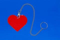 Tag Heart-shaped foto de stock