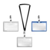 Tag holder Royalty Free Stock Images