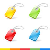 Tag icons Stock Photo