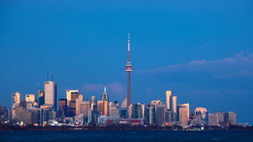 Tag 4K UltraHD zum Nacht-timelapse in Toronto stock video footage