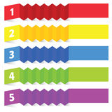 Tag label vector in colorful Stock Photo