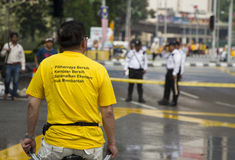 Tag 2, Malaysia der Sammlung Bersih4 Lizenzfreies Stockbild