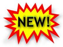 Tag novo - ilustração Imagem de Stock Royalty Free