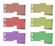 Tag paper Stock Image