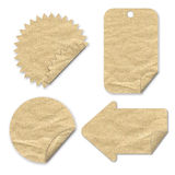 Tag paper craft Stock Image