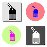 Tag, price label. flat vector icon royalty free illustration