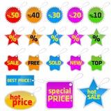Tag set vector Royalty Free Stock Image