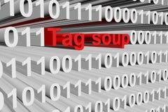 Tag soup Stock Photo