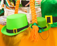 Tag St. Patricks in Moskau Stockbild