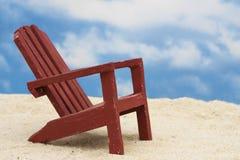Tag am Strand Lizenzfreie Stockbilder