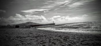 Tag am Strand Lizenzfreies Stockfoto