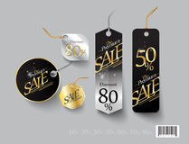 Tag template design. Discount sale promotion Stock Photo