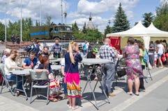 Tag von Russland in Tula Lizenzfreies Stockfoto