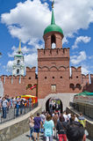 Tag von Russland in Tula Stockbild